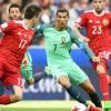 Сборная России против сборной Португалии