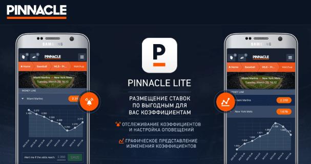 Приложение Pinnacle