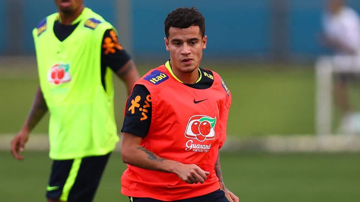 Коутиньо в сборной Бразилии