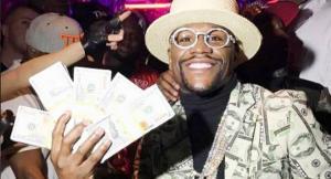 Клиент «Пари-Матч» выиграл почти 1,5 млн рублей за счет Мэйвезера