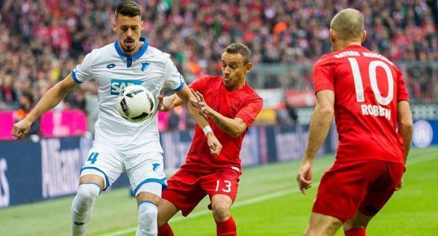 Прогноз и ставка на матч Хоффенхайм – Бавария 9 сентября 2017