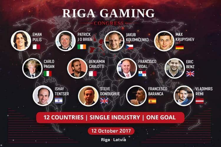 Спикеры Riga Gaming Congress 2017