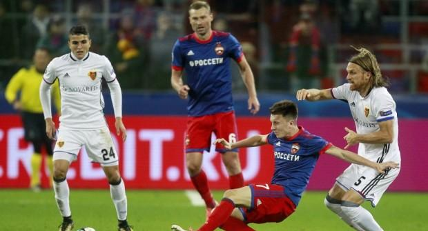 Базель - ЦСКА и еще два матча Лиги чемпионов: экспресс дня на 31 октября 2017