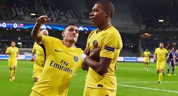 «Пари-Матч»: самым результативным матчем 4-го тура ЛЧ станет «ПСЖ» — «Андерлехт»