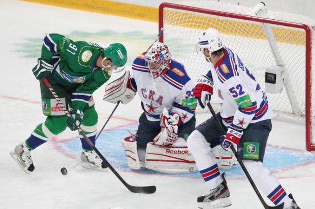 Прогноз и ставка на игру Салават Юлаев – СКА 4 октября 2017