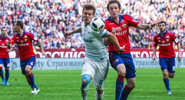 ЦСКА — Зенит и еще два футбольных матча: экспресс дня на 22 октября 2017