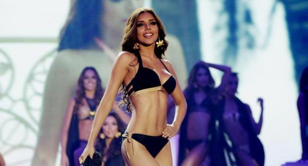 Колумбийка — фаворит конкурса «Мисс Вселенная», россиянка — 8-я