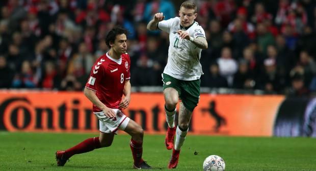 Ирландия — Дания и еще два футбольных матча: экспресс дня на 14 ноября 2017