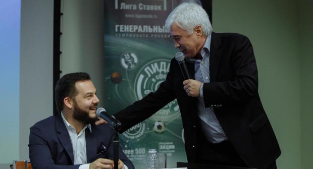 Лига ставок пресс-конференция 2