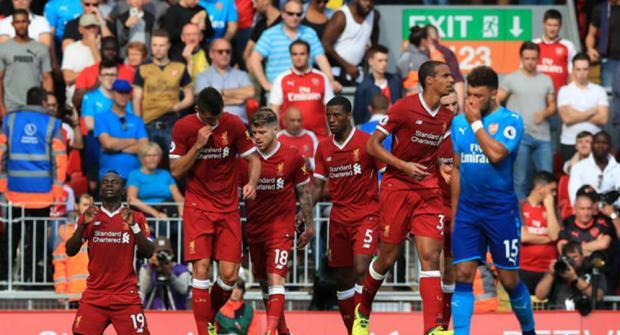 «Арсенал» и«Ливерпуль» сыграли вничью в19-м туре чемпионата Британии