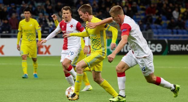 Прогноз и ставка на матч Славия – Астана 7 декабря 2017