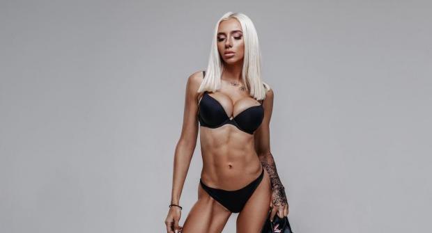 Ксения Мутьева — российская фитнес-модель