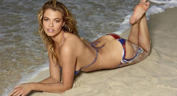 Хэйли Клаусон — модель Sports Illustrated