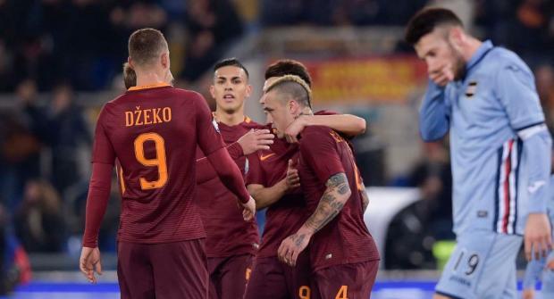 Прогноз и ставка на матч Сампдория – Рома 24 января 2018