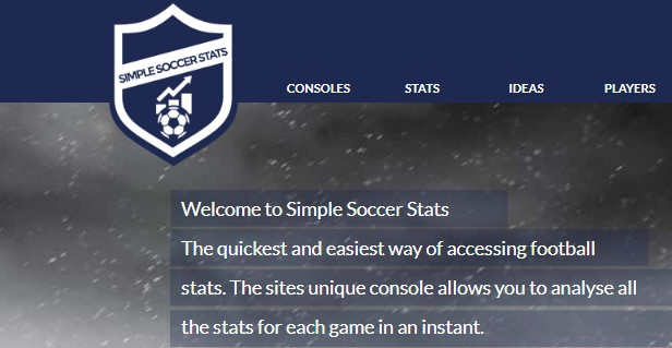 Simple Soccer Stats com сайт