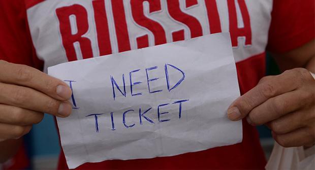 За сутки продано рекордное количество билетов на ЧМ-2018