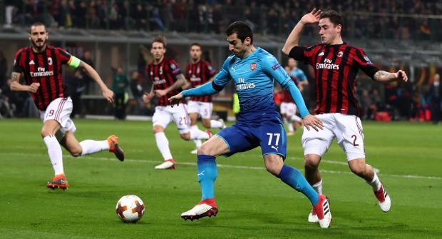Арсенал — Милан и еще два футбольных матча: экспресс дня на 15 марта 2018