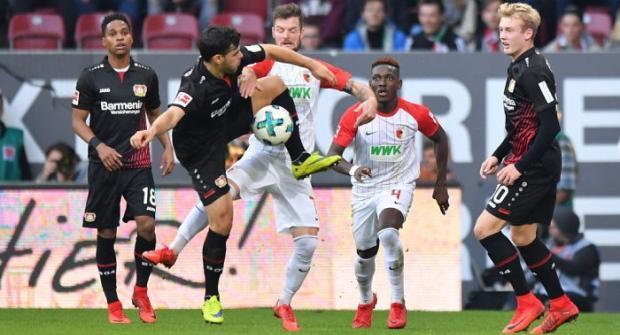 Прогноз и ставка на матч Байер - Аугсбург 31 марта 2018
