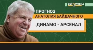Прогноз на матч «Динамо» — «Арсенал» 31 марта