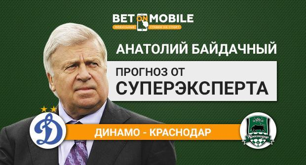 Прогноз и ставка на матч Динамо — Краснодар 10 марта
