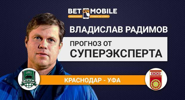 Прогноз и ставка на матч «Краснодар» — «Уфа» 17 марта 2018