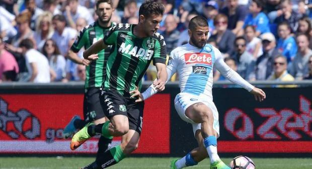 Прогноз и ставка на матч Сассуоло – Наполи 31 марта 2018