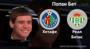 Прогноз и ставка на игру «Хетафе» — «Реал Бетис»