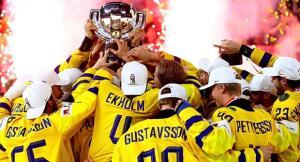 Оценена вероятность третьей подряд хоккейной короны Швеции
