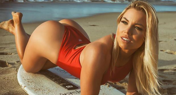 Лорен Драган — фитнес-модель