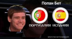 Прогноз и ставка на игру Португалия — Испания от Попана
