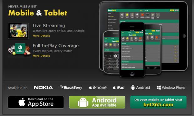 Бет365 мобильные приложения и сервисы