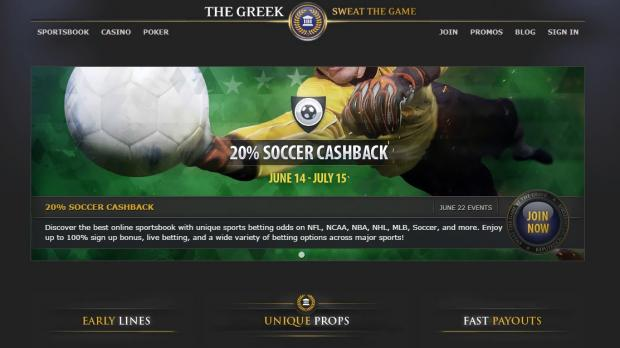 the greek букмекер