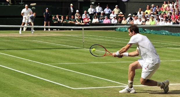 Догон в теннисе в лайве