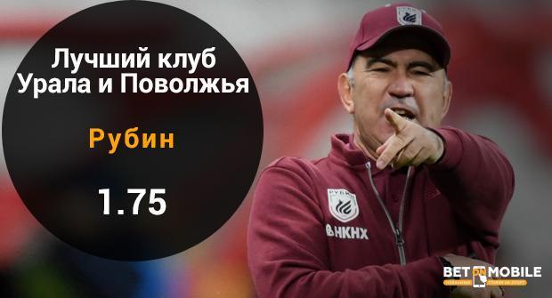 шансы Рубина в РПЛ 2018/19