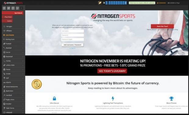 Nitrogen sports сайт