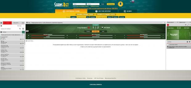 Шансбет официальный сайт