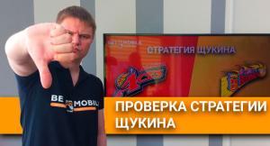 👎Тестируем стратегию Щукина