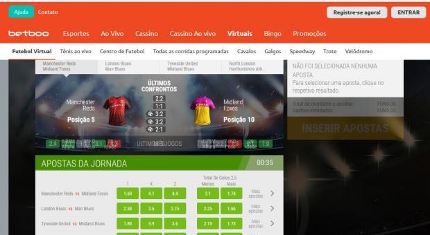бетбу виртуальный футбол