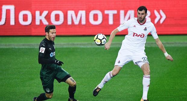 Букмекеры оценили вероятность трансфера Смолова в «Локомотив»