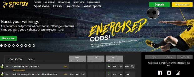 Сайт energybet