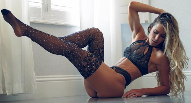 Валентина Лекье — фитнес-модель