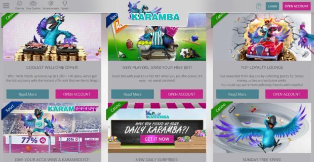 Karamba бонус