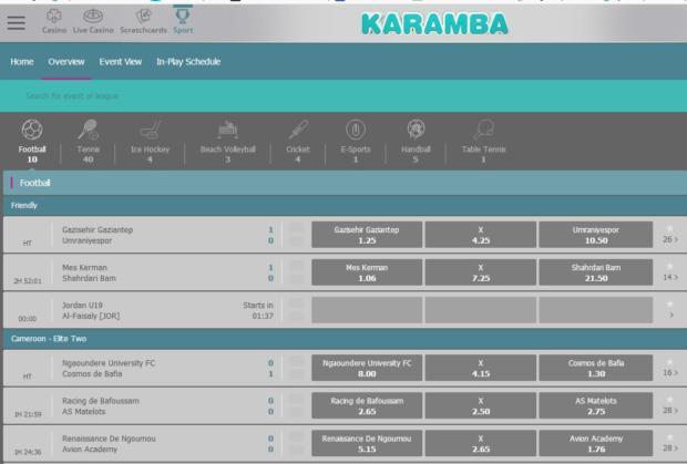 Karamba лайв