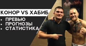 Бой Хабиба Нурмагомедова и Конора Макгрегора известна дата когда состоится главный бой 2018 года