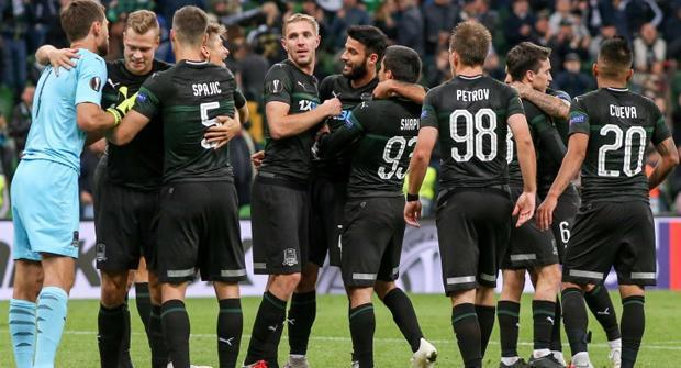«Краснодар» выйдет в плей-офф Лиги Европы со второго места