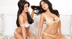 Карла и Мелисса Хоу — модели Playboy