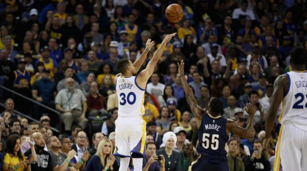 Ставки на 3-очковые НБА Карри