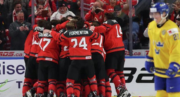 Назван фаворит молодежного чемпионата мира по хоккею