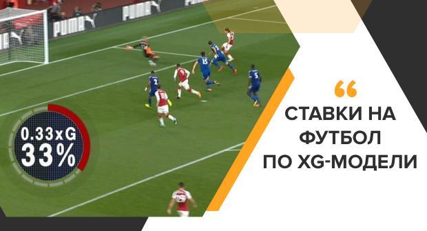 Ставки на футбол по xG-модели