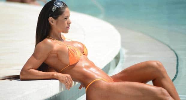 Мишель Левин — американская фитнес-модель